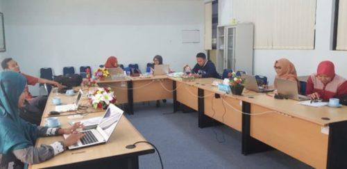 Rapat Koordinasi Jurusan Teknik Industri Unsoed Menjelang