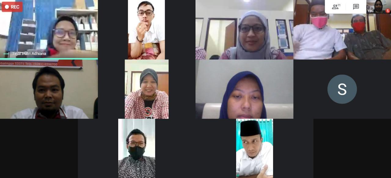 Di tengah pandemi , Dosen Teknik Industri gelar pelatihan dan halal bihalal secara online